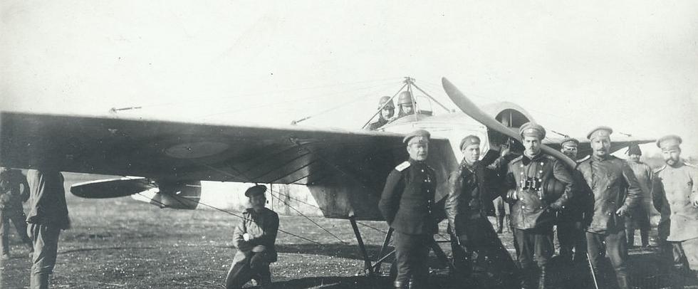 Орёл встал накрыло: русская военная авиация в1914 году