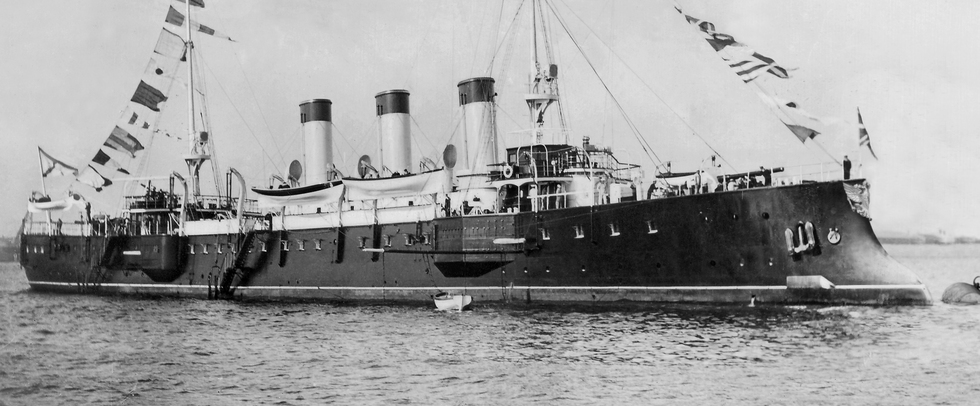 Крейсер-яхта для великого князя