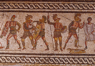 Римское фехтование на Warspot.ru