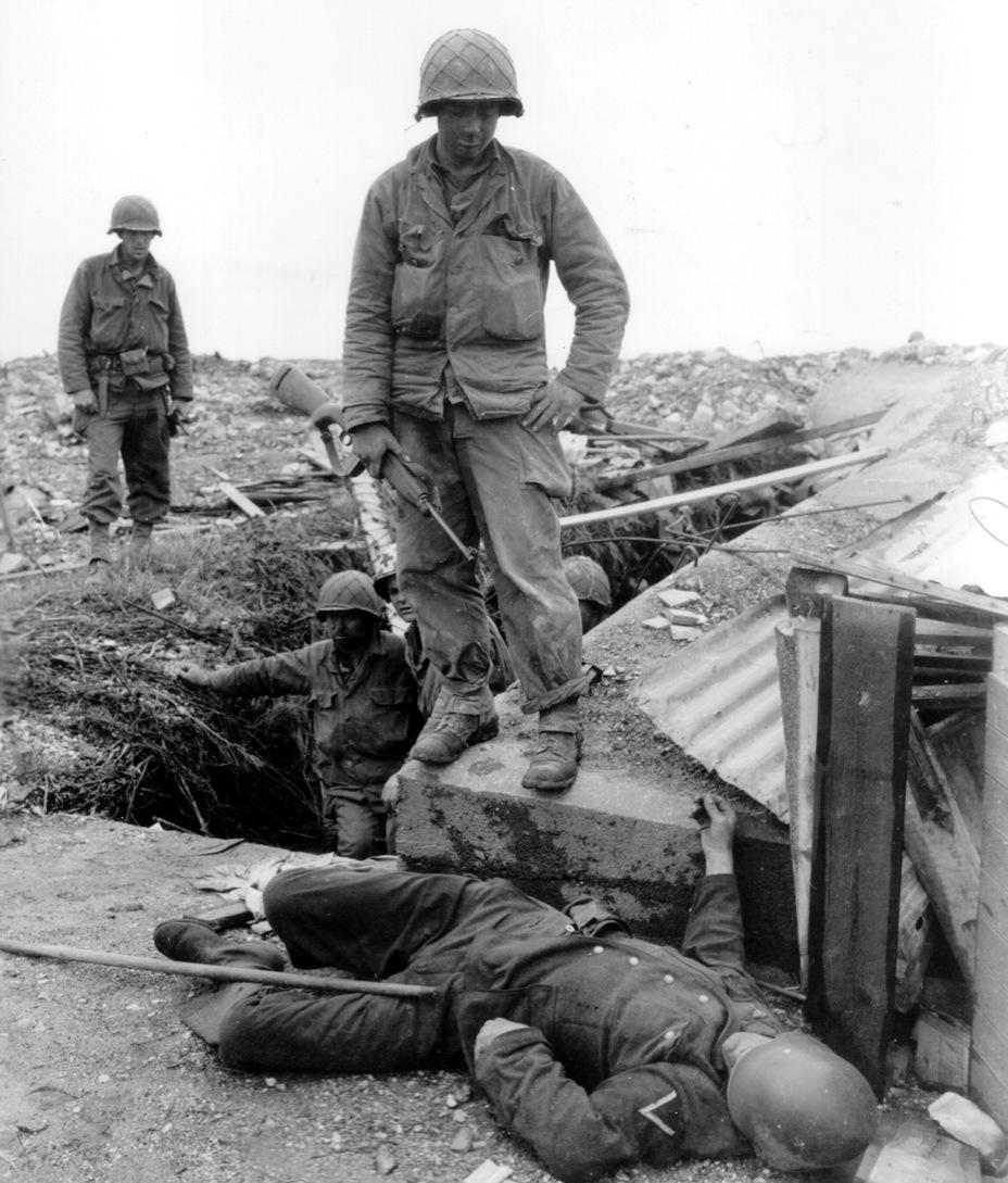 Американский солдат в рабочей форме. Европа, 1944 год - Рабочая форма | Военно-исторический портал Warspot.ru
