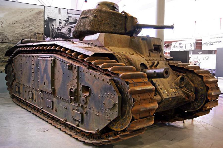 Танк Char B-1bis Источник – clan-themohicans.ru - Французский танк Char B-1. Часть II | Военно-исторический портал Warspot.ru