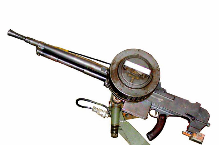 7,5-мм крепостной пулемет «Reibel» МАС-31 Источник – airsoftforum.com - Французский танк Char B-1. Часть II | Военно-исторический портал Warspot.ru