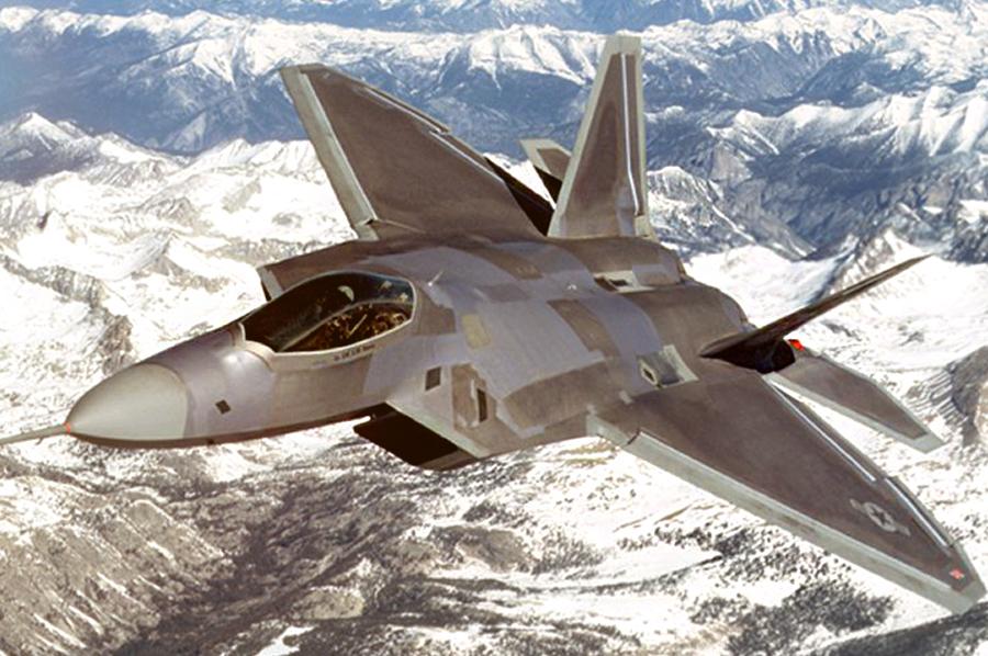 Суперсовременный американский истребитель F-22 / Источник: http://web.deu.edu.tr/ - 20 интересных фактов из истории истребителей | Военно-исторический портал Warspot.ru