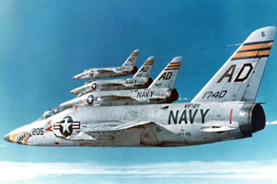 Американский истребитель F-11 /Источник: http://upload.wikimedia.org/ - 20 интересных фактов из истории истребителей | Военно-исторический портал Warspot.ru