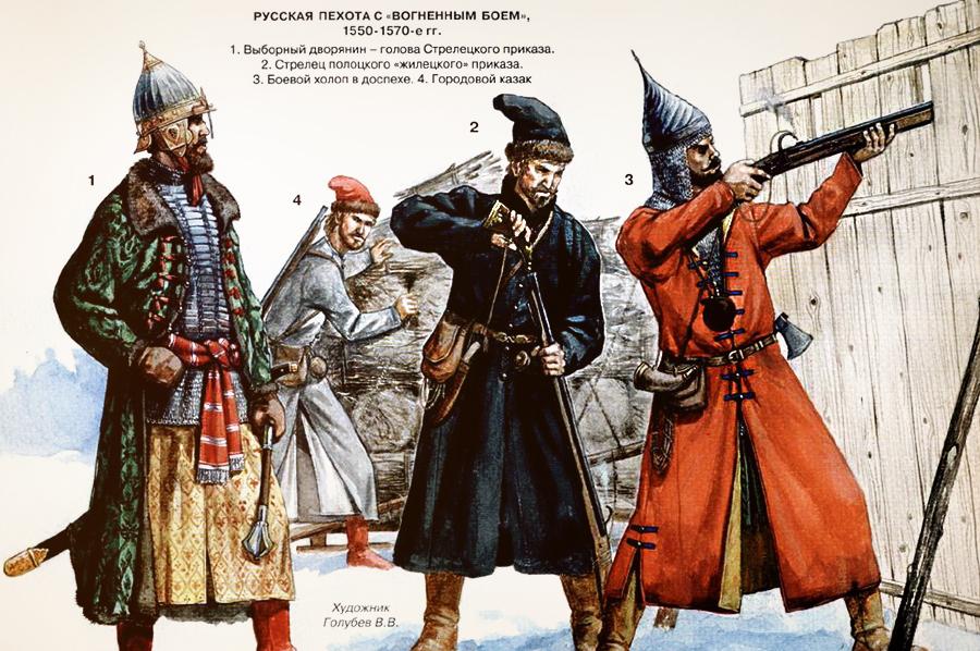 Русские пищальники XVI века (http://www.oboznik.ru) - Не числом, но умением… и везением | Военно-исторический портал Warspot.ru