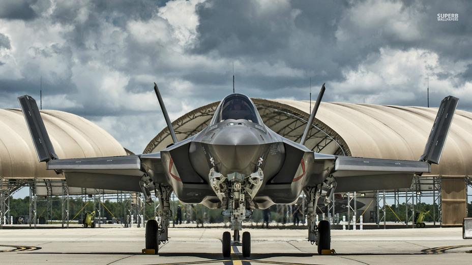 Истребитель F-35 Lightning II http://www.superbwallpapers.com/aircraft/lockheed-martin-f-35-lightning-ii-28872/ - Израиль приобретёт 25 дополнительных истребителя F-35 | Военно-исторический портал Warspot.ru