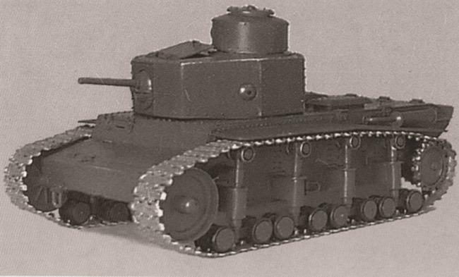 Деревянная модель среднего танка Т-12, 1929 год  Источник – morozov.com.ua -  Первый советский серийный танк | Военно-исторический портал Warspot.ru