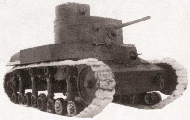 Танк Т-24  Источник – museum-t-34.ru -  Первый советский серийный танк | Военно-исторический портал Warspot.ru