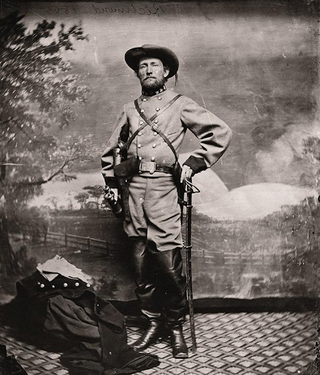 Джон Синглтон Мосби – кавалерийский офицер, участник гражданской войны в США  Источник: en.wikipedia.org - 10 фактов о генерале Паттоне | Военно-исторический портал Warspot.ru