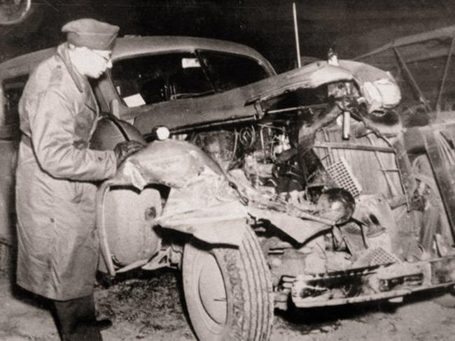 Разбитый «Кадиллак-75», на котором Паттон попал в аварию  Источник: www.chicagonow.com - 10 фактов о генерале Паттоне | Военно-исторический портал Warspot.ru