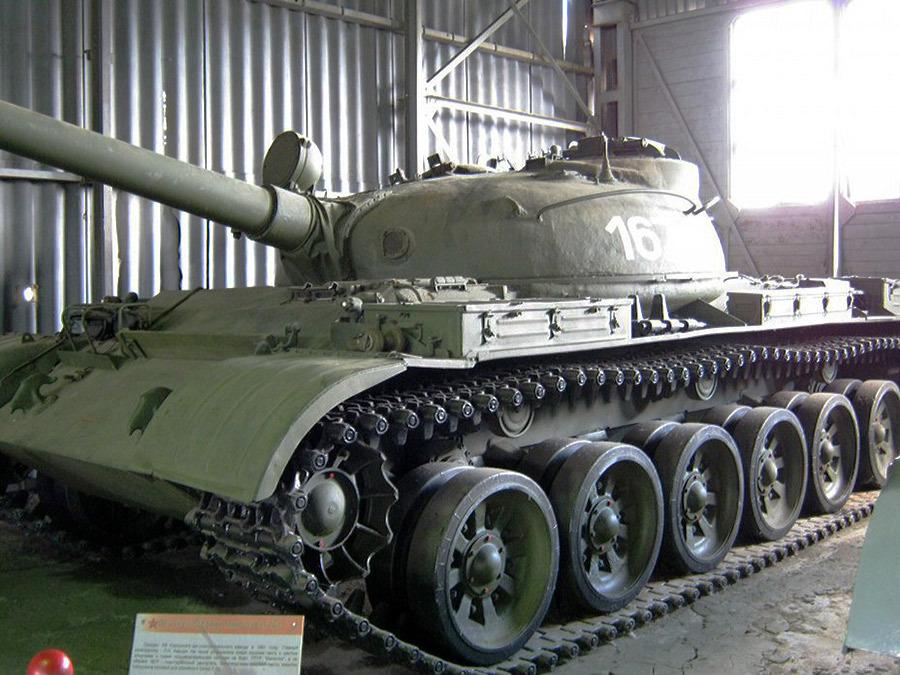 Опытный средний танк «Объект 167» в Бронетанковом музее в Кубинке Источник — comgun.ru - Самый спортивный танк в мире   Военно-исторический портал Warspot.ru
