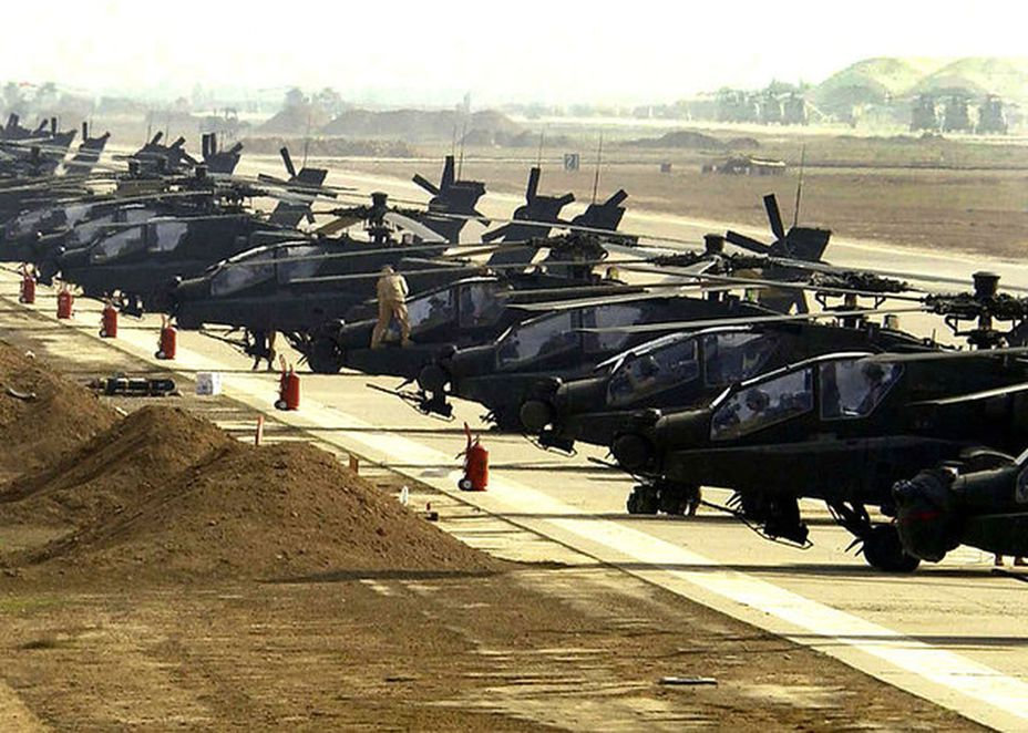 Вертолётная часть ВВС Саудовской Аравии saudar.net - Вооружённое королевство  | Военно-исторический портал Warspot.ru