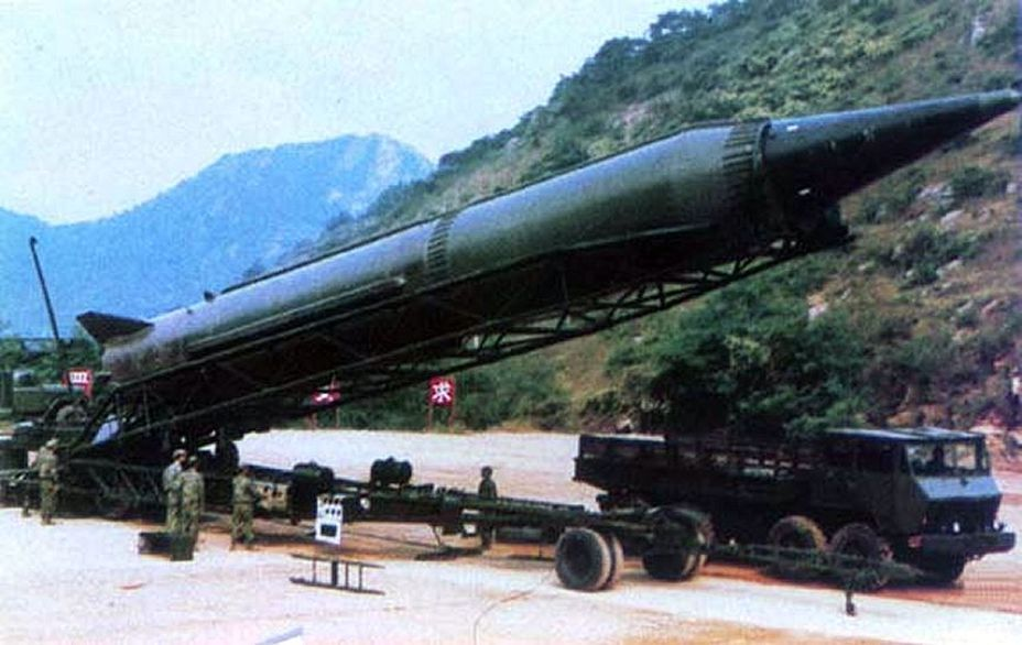 Баллистическая ракета ДФ китайского производства army-news.ru - Вооружённое королевство  | Военно-исторический портал Warspot.ru