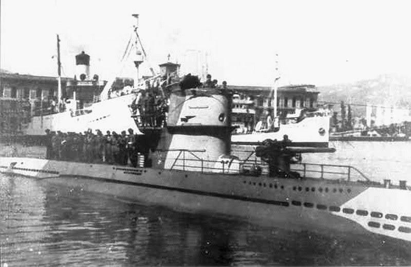 Германская подводная лодка U-