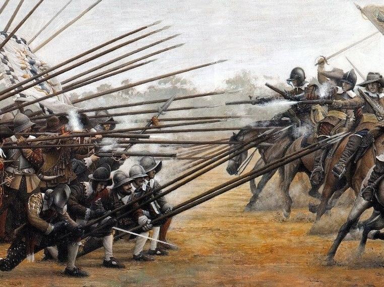 Излюбленное построение швейцарских пикинёров (http://jamak.tcafe.net) - Армия – это народ. Народ – это армия   Военно-исторический портал Warspot.ru