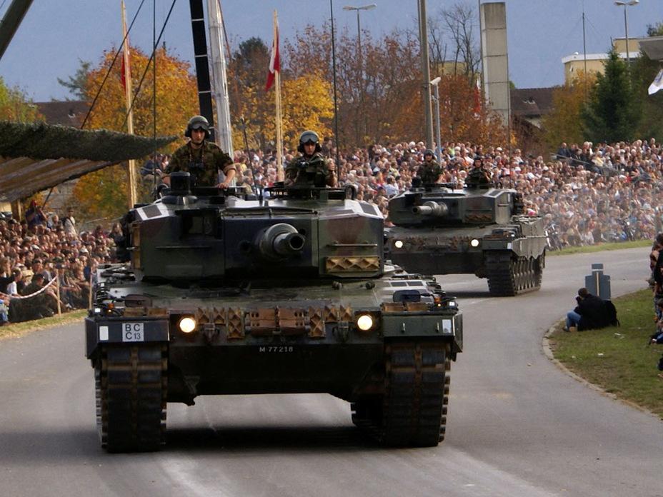 Швейцарский Leopard II Pz87 WE (http://i28.tinypic.com) - Армия – это народ. Народ – это армия   Военно-исторический портал Warspot.ru