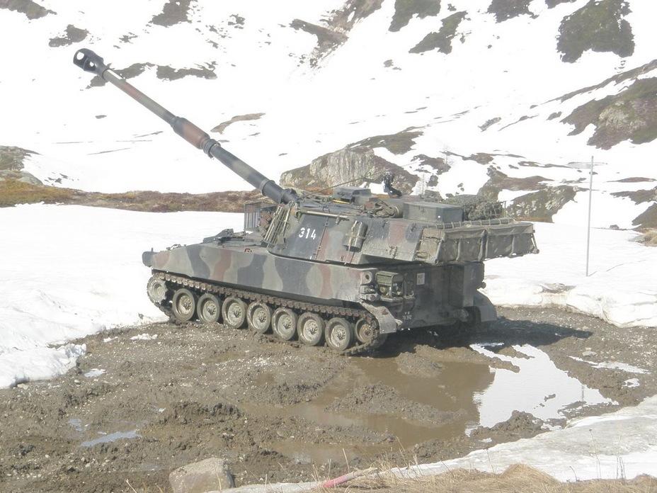 Самоходная гаубица M109 KAWES (http://bemil.chosun.com) - Армия – это народ. Народ – это армия   Военно-исторический портал Warspot.ru