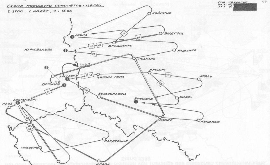 Гранит-74. Советская схема