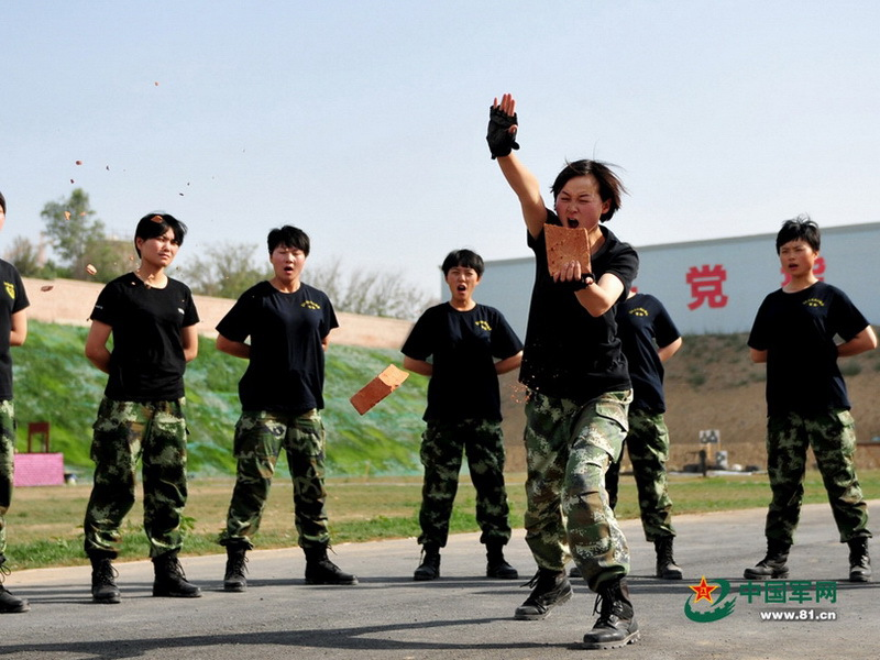 Иллюстрация №10 «Дочери большого дракона» – женский спецназ Китая (http://www.chinanews.com) - Дети Красного дракона | Военно-исторический портал Warspot.ru