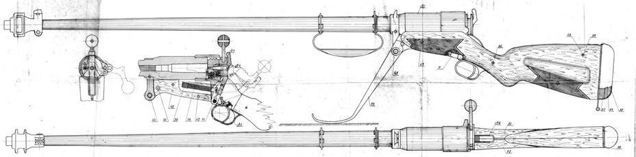 Схема Р-6 – противотанкового