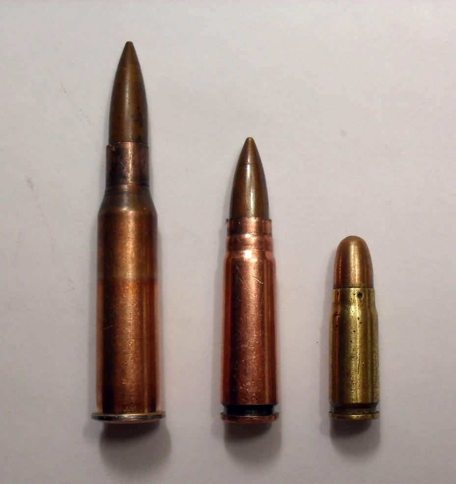 Советские патроны: винтовочный 7,62×54, промежуточный 7,62×39 и пистолетный 7,62×25. ammunitionstore.com - Самый известный автомат вмире | Военно-исторический портал Warspot.ru
