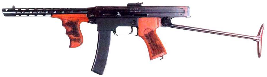 Пистолет-пулемёт Калашникова образца 1942 года. nnm.me - Самый известный автомат вмире | Военно-исторический портал Warspot.ru