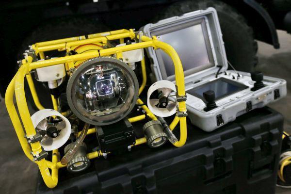 Подводный робот-разведчик