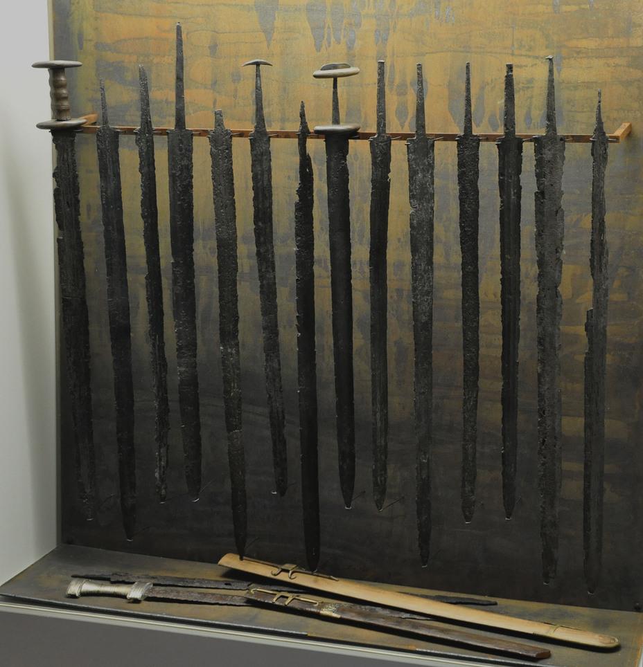 Римские мечи IV в., Нидам, Дания - Последний легион | Военно-исторический портал Warspot.ru