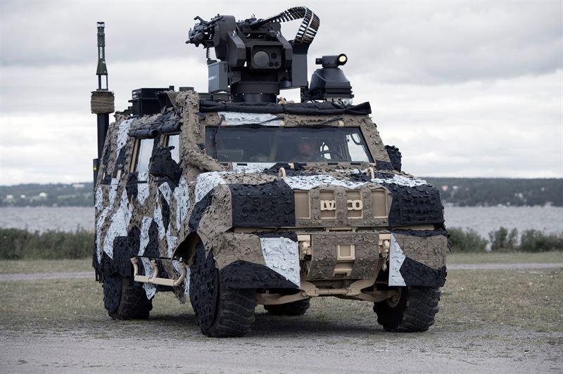 Новейший камуфляж Saab спрячет танки Норвегии и Дании от взора Путина