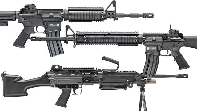 Винтовки M16, M4 и пулемет M249 станут доступны на гражданском рынке guns.com - Пулемёт M249 поступит на гражданский рынок | Военно-исторический портал Warspot.ru