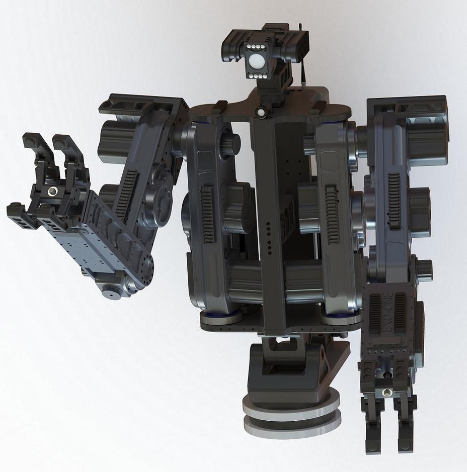 Робот EXO-ONE tecdron.fr - Французы показали «робота-аватара» | Военно-исторический портал Warspot.ru