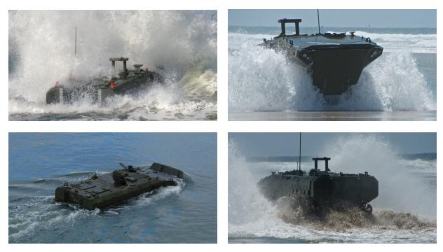 БТР SuperAV от BAE Systems baesystems.com - Две новых амфибии для морпехов США | Военно-исторический портал Warspot.ru