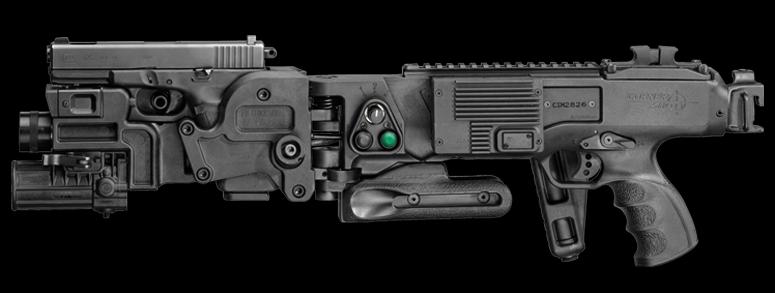 Corner Shot CSM в версии для пистолета Glock 17 cornershot.com - Устройство для стрельбы из-за угла поступило на гражданский рынок | Военно-исторический портал Warspot.ru