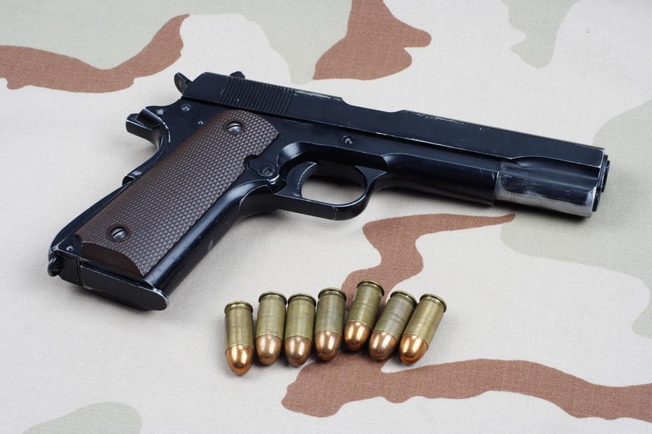 Легендарный пистолет M1911 с военных складов поступит на гражданский рынок depositphotos.com - В США распродадут военные пистолеты на гражданском рынке | Военно-исторический портал Warspot.ru