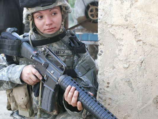 В январе следующего года все ограничения для американских женщин-военнослужащих будут сняты defensenews.com - Американки получили право воевать | Военно-исторический портал Warspot.ru