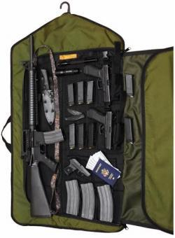 Чехол для оружия HTF Garment Bag ammoland.com - Как замаскировать оружие в платяном шкафу | Военно-исторический портал Warspot.ru
