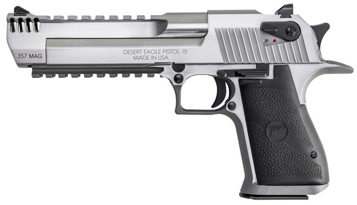 Desert Eagle в калибре .357 Magnum magnumresearch.com - «Пустынные орлы» из нержавеющей стали | Военно-исторический портал Warspot.ru