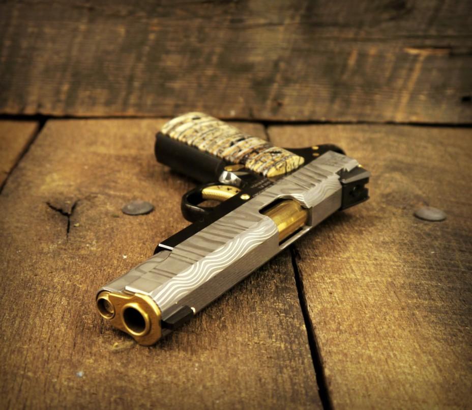 Пистолет Damascus 1911 cabotgun.com - «Внеземные» пистолеты от Cabot Guns | Военно-исторический портал Warspot.ru