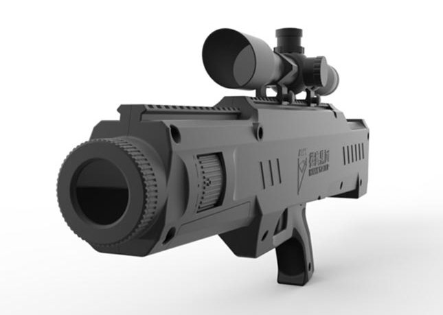 Лазерная винтовка PY132A ean360.com - Китай вооружается лазерными винтовками | Военно-исторический портал Warspot.ru