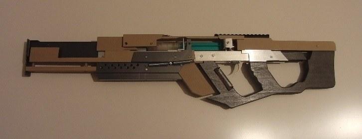 Многозарядная пневматическая винтовка в стиле киберпанк gizmag.com - Немец сделал пневматическую винтовку из шприца | Военно-исторический портал Warspot.ru