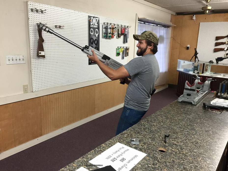 AK-50 Leviathan в руках своего создателя facebook.com/TheAKGuy - Американец создал АК в калибре .50 BMG | Военно-исторический портал Warspot.ru