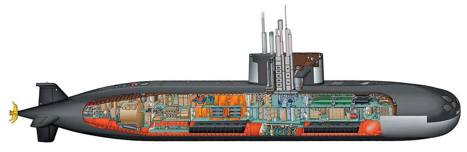 лодка проект 212