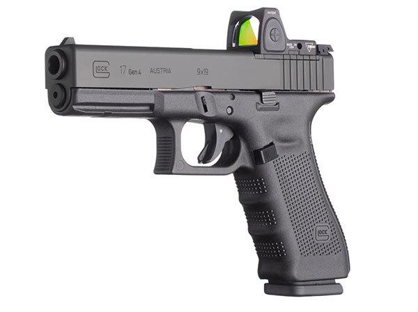 Пистолет G17 Gen4 MOS с коллиматорным прицелом ammoland.com - Два новых пистолета от Glock | Военно-исторический портал Warspot.ru
