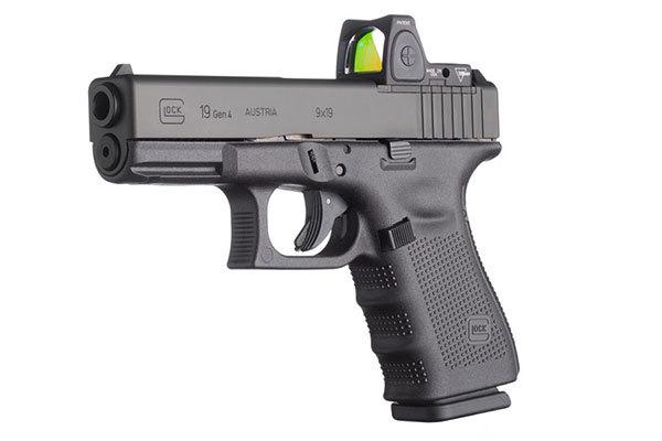 Пистолет G19 Gen4 MOS с коллиматорным прицелом ammoland.com - Два новых пистолета от Glock | Военно-исторический портал Warspot.ru