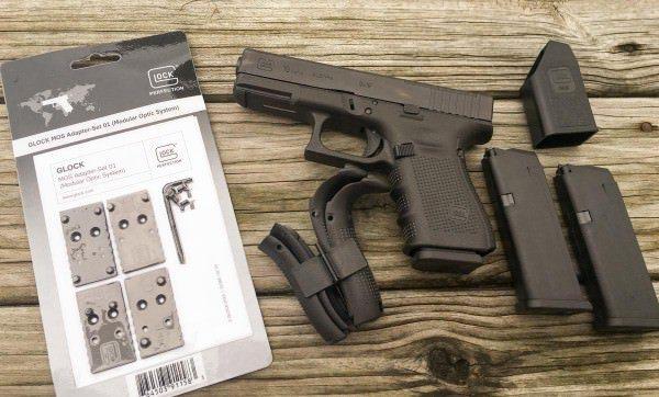 Комплект пистолета G19 Gen4 MOS ammoland.com - Два новых пистолета от Glock | Военно-исторический портал Warspot.ru