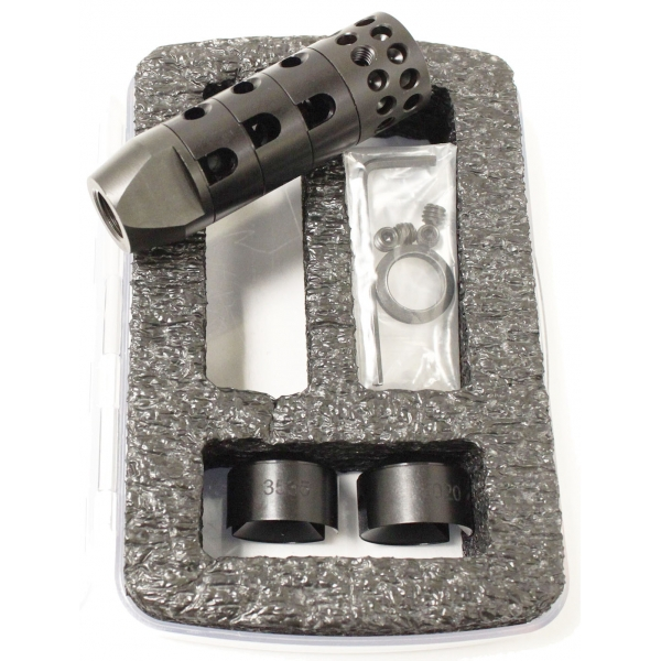 Комплект поставки ДТК R.A.G.E. 22mods4all.com - R.A.G.E. – первый в мире модульный дульный тормоз | Военно-исторический портал Warspot.ru