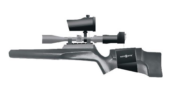 Схематическое изображение винтовки с установленным на нее набором от NiteSite nitesite.com - Как сделать «ночник» из базовой «оптики» | Военно-исторический портал Warspot.ru