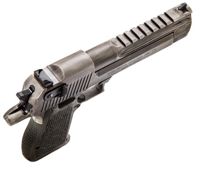 Пистолеты Desert Eagle Apocalyptic имеют планки для крепления прицелов magnumresearch.com - «Пустынный орёл» для зомби-апокалипсиса | Военно-исторический портал Warspot.ru