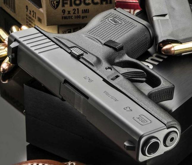 Пистолет Glock 43 9×21 IMI thefirearmblog.com - «Итальянский» Glock 43 поступил в продажу | Военно-исторический портал Warspot.ru