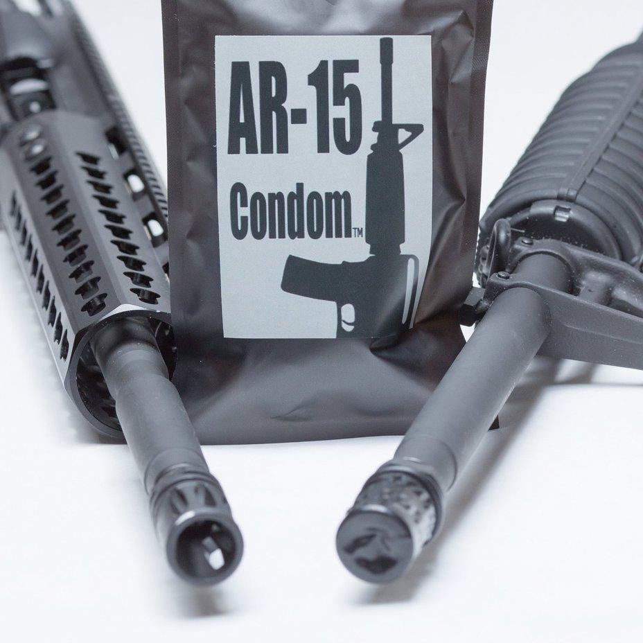 AR-15 Condom amazon.com - Стволы под защитой | Военно-исторический портал Warspot.ru